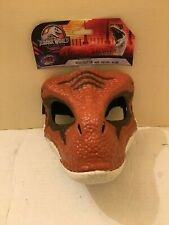 Jurassic World Velociraptor Legacy Collection Mask Moveable Jaw! Brand New!