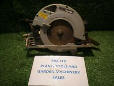 MAKITA 5903r CIRCULAR SAW 110v 1550w WITH USED 235mm BLADE  VAT INCLUDED SRA4