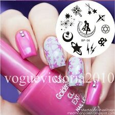 Nagel Schablone Nail Art Stamp Stamping Template Plates BORN PRETTY 06