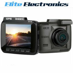 """Uniden iGO CAM 80 2160P 4K WiFi 2.4"""" LCD GPS Dash Camera"""
