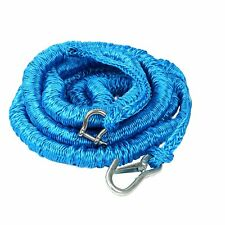 Boat Blue Anchor Buddy Anchor Line Bungee Rope with Carabiners 2500Lb 15' -50'