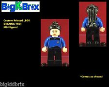 DEANNA TROI Star Trek Custom LEGO Minifigure NO DECALS USED!