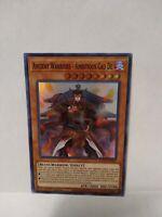 Ancient Warriors Ambitious Cao De X3 ETCO-EN020 Super Rare 1st NM Yu