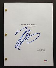 JOHNNY GALECKI SIGNED THE BIG BANG THEORY PILOT SCRIPT FULL 51 PAGES PSA DNA COA