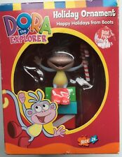 Dora the Explorer Boots w/ Candy Cane Christmas Holiday Ornament~Am. Greetings