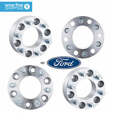 """4x 2"""" Wheel Spacers 6x135 14x2.0 Studs Fits Ford F-150 Navigator Expedition"""