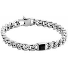 Bracciale Uomo Nomination Bond 021942/012 acciaio Onice Nera Pietra Bracelet