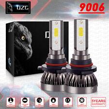 9006 Combo LED Headlight Kits 120W High/Low Beam Bulbs 6000K White