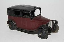 1940's Dinky #36g, Maroon and Black Taxi, Original