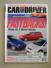 Car and Driver ~ March 2002 ~ SVT Focus Civic Si Opel Speedster Porsche 911 AMG