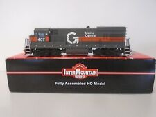 INTERMOUNTAIN RAILWAY #49452S HO SCALE MAINE CENTRAL U18B DIESEL W/DCC AND SOUND