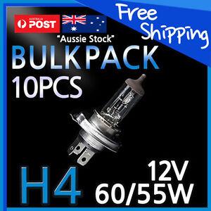 H4 Halogen Light Bulbs Headlight Globes 60/55W Yellow Warm White CAR 10PCS 1 BOX