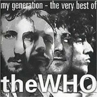 "THE WHO ""MY GENERATION - THE VERY BEST OF"" CD NEU"
