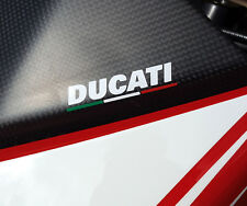 Ducati ITALIA Flag Decals Stickers 2x Pack SML Set 100mmw Moto 996 Monster.