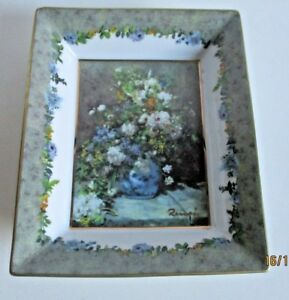 Collectable goebel artis orbis renoir decorative dish 9cm x 6cm #S5