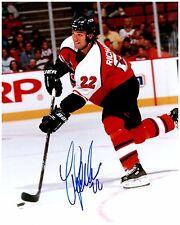Philadelphia Flyers LUKE RICHARDSON Signed Autographed 8x10 Pic D