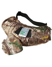 Realtree Camo Textpac Hand Warmer Hunting Muff, Text Camouflage Muffler