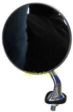 Lucas style L/H fender wing mirror round head