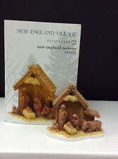 Dept 56 New England Village, New England Nativity #4030710 Nib
