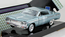 Chevy Chevrolet Impala blau 1964 1:24 Motor Max Modellauto 73259