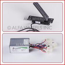 250 W 24 V electric speed controller+Foot Pedal Throttle goKart eCar Cart motor