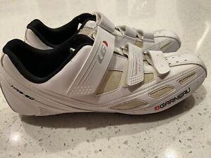 Men's Garneau Road Bike Shoes Size 50 Cycling Shoes US Size 13.5 EUC!
