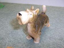 Vintage Glazed Porcelain Dog / Scottie Terrier Made In Japan
