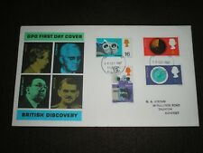 1967 GB Stamps BRITISH DISCOVERIES Connoisseur First Day Cover TAUNTON Cancel