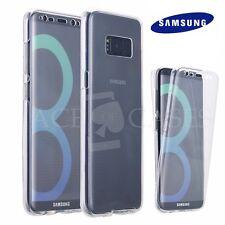 Ultra Fin 360° Silicone Avant & Dos Couvert Clair En Cas Pour Samsung Galaxy S8