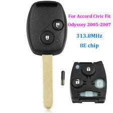 Remote transponder Key Fob 2Button 313.8MHz 8E Chip for Honda Accord Fit Odyssey