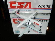 Schabak 1:600 Scale Diecast 939-143 CSA  Czechoslavian Airlines ATR 72 New