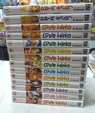 collection love hina 1 a 14 complet ken akamatsu pika  editions  manga