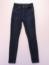 WITCHERY SKINNY STRETCH BLUE DENIM JEANS SIZE 6 AS NEW
