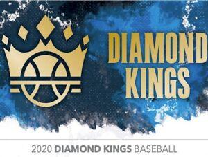 2020 Diamond Kings Downtown Insert Set Singles MLB Baseball Trading Sports Cards
