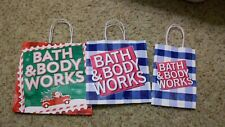 Lot of 3 Bath and Body Works Gift Bags