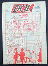 DOL n°9. Journal néerlandais avec publication d'une aventure de TINTIN. 1990