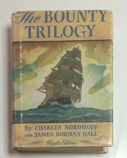 Mutiny on Bounty Trilogy Wyeth Edition Nordhoff Hall  1962 18th Printing HBDJ