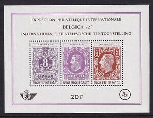 Belgium Mint Souvenir Sheet Sc#B863 MNH