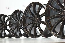 "Infiniti G37 19"" Factory OEM Original Staggered Wheels Rims Black 19"