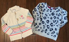 Carters Toddler Girls Sweaters Size 3T Bundle of 2 CUTE!