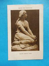 IMAGE PIEUSE SAINT GENES DE THIERS JEANNE D ARC OEUVRE DES CAMPAGNES 1922