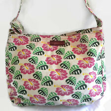 Hibiscus Tropical Large Tote Shoulder Bag Purse Bungalow 360 Organic Cotton EUC