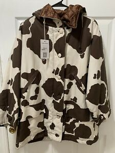 RARE! Vintage Moschino Cheap And Chic Cow Print Jacket