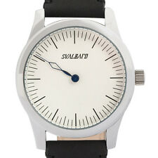 Minimalist single hand watch with Swiss movement by Svalbard. Limited Edition.