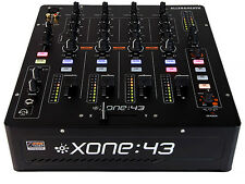 ALLEN AND HEATH XONE:43 FOUR CHANNEL DJ MIXER W/ FILTER AND USB JK PRO AUDIO