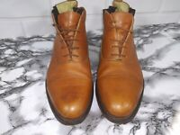 Church's Mens Boots Prima Classe Brown Desert Chukka Size 8 M Made in Italy