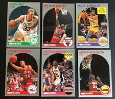 JORDAN, Bird, Magic and More...1990-91 NBA Hoops Lot (6 Cards)--Free Shipping!!