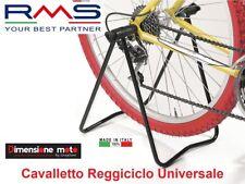 0410 - Cavalletto Reggiciclo Espositore RMS in Metallo per Bici Corsa Strada