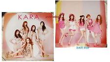 Korean Idol Kara Collection Taiwan Promo Mini Double-Sided Poster