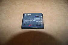 Casio Exilim NP-60 NP60 Battery Genuine OEM